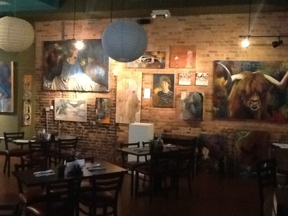 Nov. 1 First Friday, Bona Sera Cafe